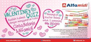 Alfamidi quiz valentine