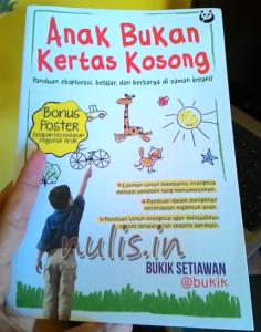 Buku Parenting : Hadiah Buku Dari Sahabat
