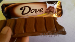 Dove coklat