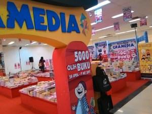 Pesta Buku Gramedia 28 April - 17 Mei 2015 (Lt 1 Moro Purwokerto)