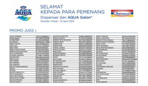 Galon Aqua