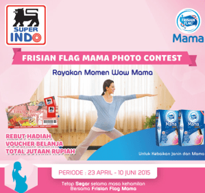 Frisian Flag Mama Photo Contest, Berhadiah Voucher Belanja!