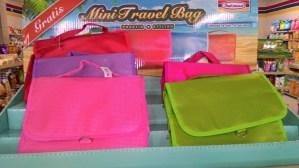Gratisan Mini Travel Bag Indomaret