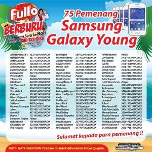 75 winners samsung galaxy