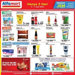 Gratisan JSM Alfamart 5-7 Juni 2015