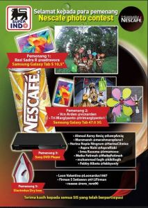 14 Pemenang Nescafe Photo Contest (Superindo)