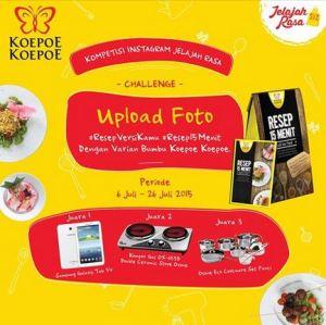Resep 15 Menit Koepoe-Koepoe Berhadiah Peralatan Masak & Gadget
