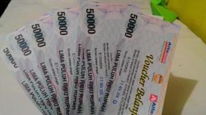 Voucher Alfamart 500 K : Hadiah Foto Kontes Simba Choco Chips