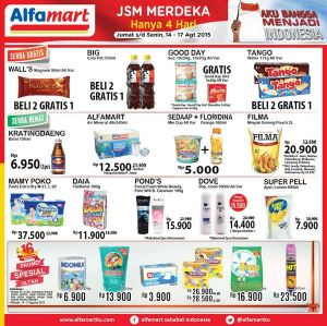 JSM Alfamart 14-17 Agustus 2015
