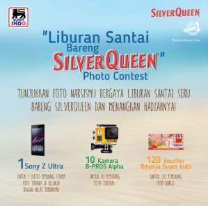 Liburan Santai Bareng Silver Queen (Superindo) Berhadiah Kamera & Voucher Belanja