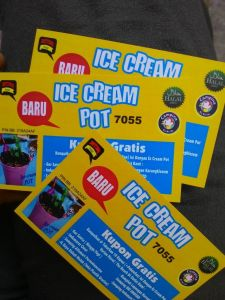 Lokasi Outlet Ice Cream Pot Di Purwokerto