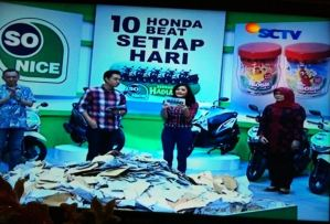 10 Pemenang Honda Beat Undian So Nice (05 September 2015)