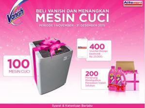 100 Mesin Cuci Dari Vanish & Alfamart