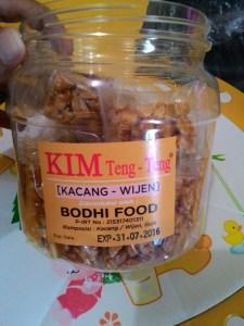 Kim Teng-Teng (Kacang Wijen) Bodhi Food : Manis Gula Kacangnya Pas