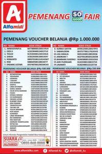 84 Pemenang So Good Fair Alfamidi