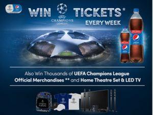 Kirim Kode Unik Pepsi Berhadiah Tiket Nonton Final UEFA Champions