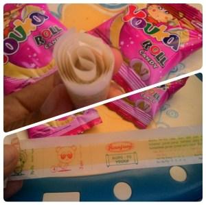 Youka Roll Candy : Kembang Gula Lunak Jeli Aneka Rasa