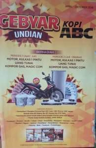 Undian Kopi ABC : Area Jatim 2016