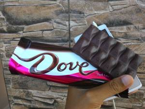 Dove Dark Chocholate : Mulus Bentuknya, Agak Pahit Coklatnya