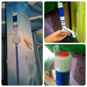 Nikita Battery Drinking Water Pump : Cocok Buat Yang Punya Balita