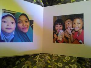 Album Photo Book : Hadiah Redeem Ibu & Aku