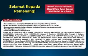 950 Pemenang THR Mudik 1 Miliar (Alfamart - Unilever)