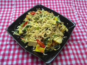 Mixed Tofu Vegetables Cheese