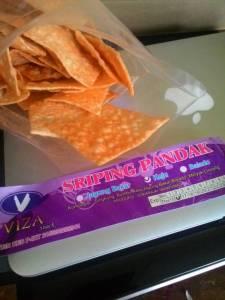 Sriping Pandak : Singkong Rasa Keju Bakar