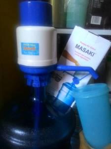 Masaki (Pompa Air Galon Manual) : Anggap Sedang Berolahraga