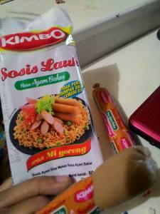 Kimbo Sosis Lauk Rasa Ayam Bakar Untuk Mi Goreng?Ah... Tidak Juga