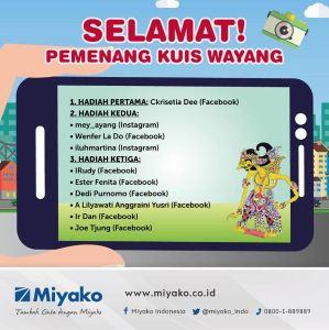 10 Pemenang Miyako Wayang Contest