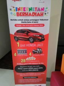 Internetan Berhadiah Honda Jazz