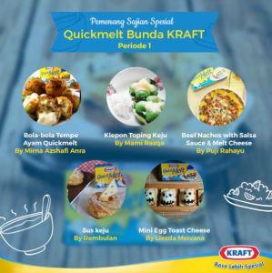 Pemenang Sajian Spesial Kraft Quick Melt