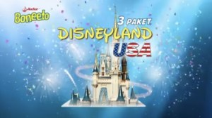 Undian Boneeto Berhadiah Family Trip Ke Disneyland USA