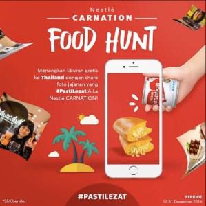 Carnation Food Hunt Berhadiah Liburan Gratis Ke Thailand