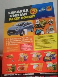 Semarak Undian Paket Rocket Berhadiah Daihatsu Alya