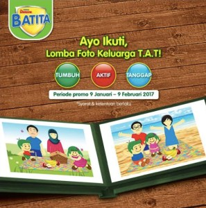 Lomba Foto Keluarga T.A.T Berhadiah Voucher Belanja Total Sepuuh Juta Rupiah
