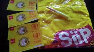 Merchandise & Voucher Belanja Hadiah Tambah Siip Makin Siip