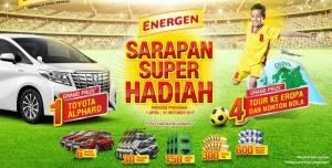 Undian Energen Berhadiah Toyota Alphard