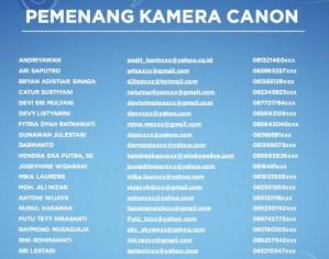 60 Pemenang Iphone & Camera : Moment Gagal Fokus - Aqua