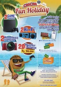 ChaCha Fun Holiday Berhadiah Gadget Keren & Voucher Belanja