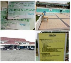 Kolam Renang Tirta Kembar Purwokerto : Tarif Flat Segala Usia & Hari