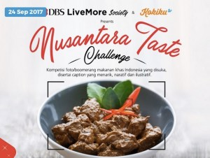Nusantara Food Taste Challenge Berhadiah Trip Solo & Jogya