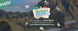 Weekend Escape Writing Competition Berhadiah Trip Ke Labuan Bajo