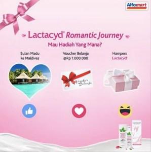Lactacyd Romantic Journey (Alfamart) Berhadiah TRip Ke Maldives