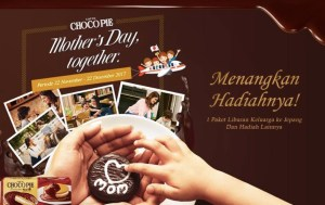 Choco Pie Mothers Day Together Berhadiah Family TRip Ke Japan