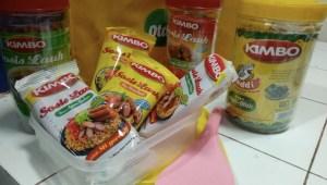 Goodie Bag Kimbo Hadiah KSL Berbagi Resep