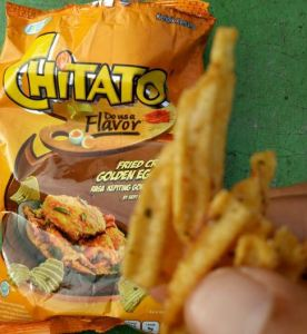 Chitato Fried Crab Golden Egg Yolk : Unik Rasanya!