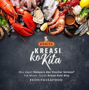 Kokita Seafood Berhadiah Voucher Belanja
