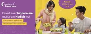Buka Pake Tupperware Berhadiah Produk Menarik Dari Tupperware